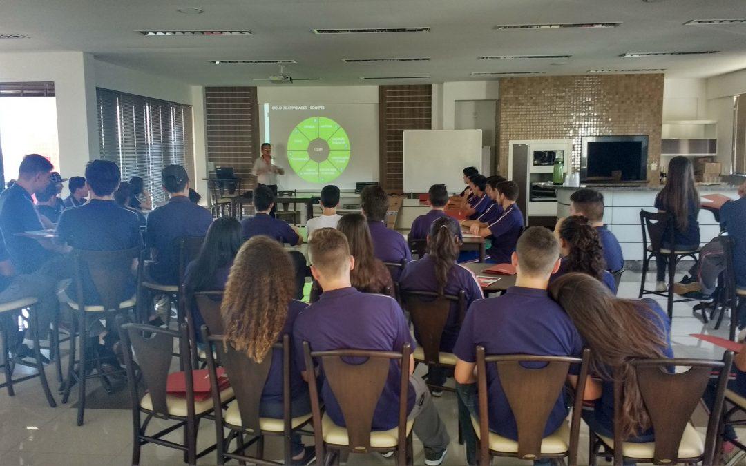 Viasoft recebe visita técnica de alunos do CEAB