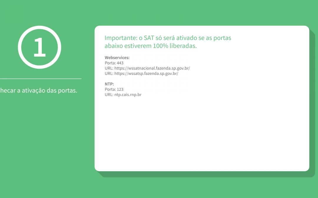 Vinculação do equipamento SAT na SEFAZ (SP) – Passo 2