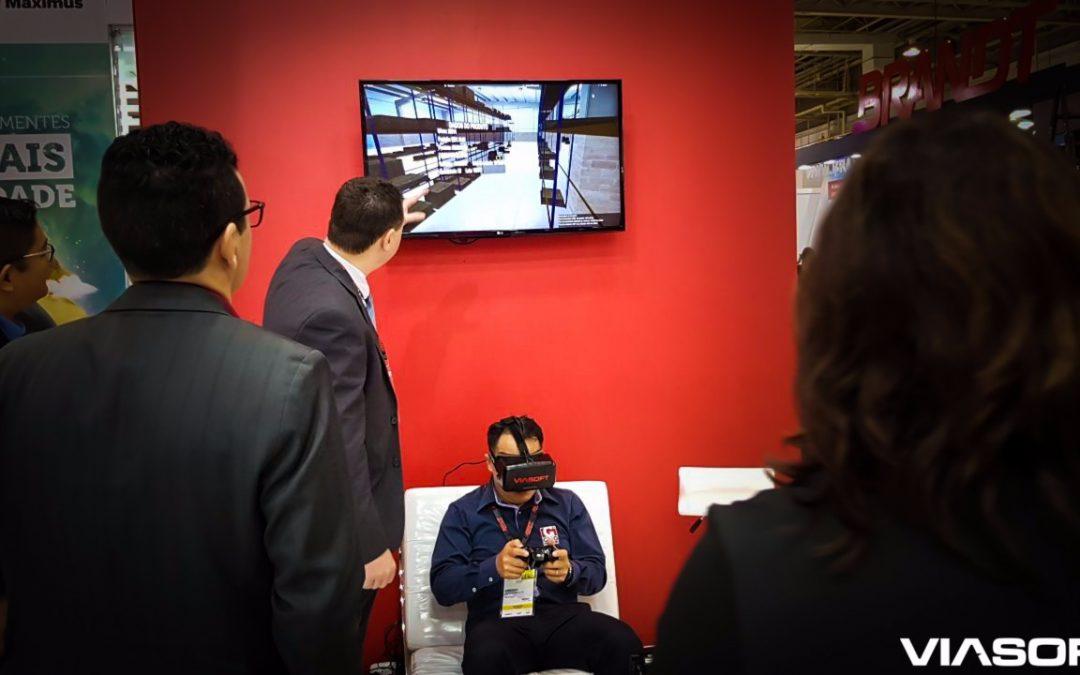 VIASOFT AGROTITAN é destaque na ANDAV com simulador 3D para Armazém