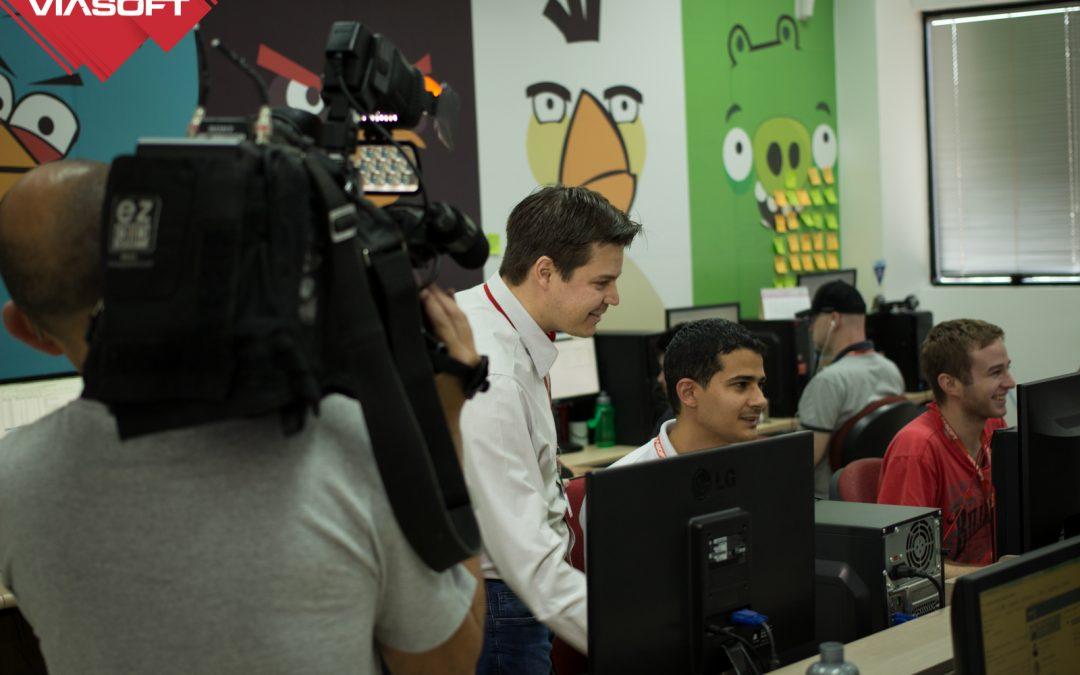VIASOFT participa de reportagens sobre Desenvolvimento Regional da RIC TV