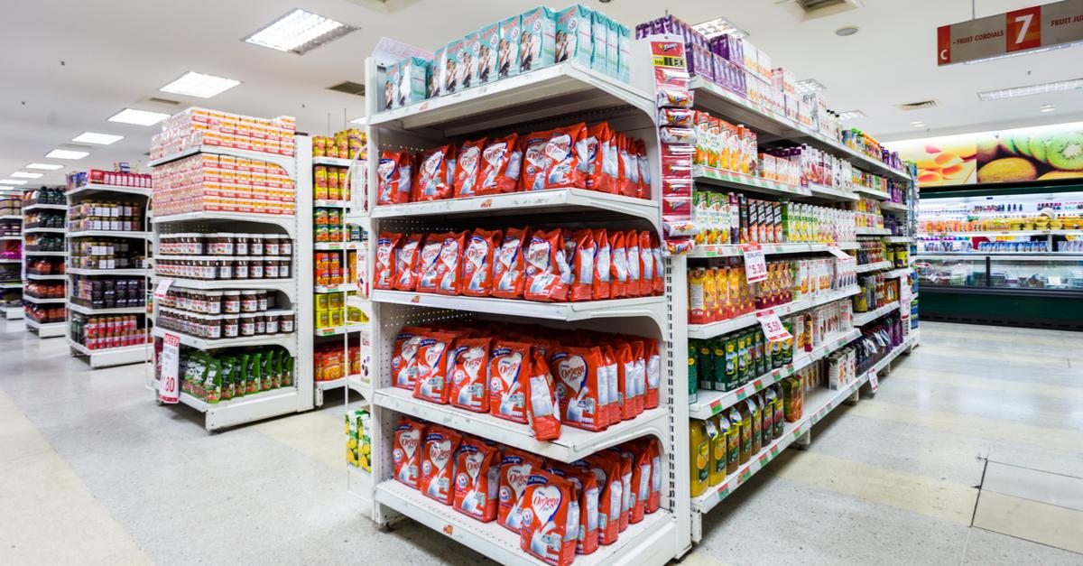 Sistema de supermercado para medir a atividade dos seus pontos de venda
