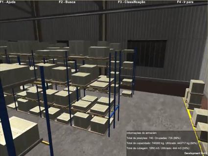 Armazém Virtual 3D