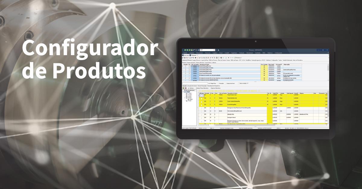 Nova Aplicação Viasoft Korp: Configurador de Produtos
