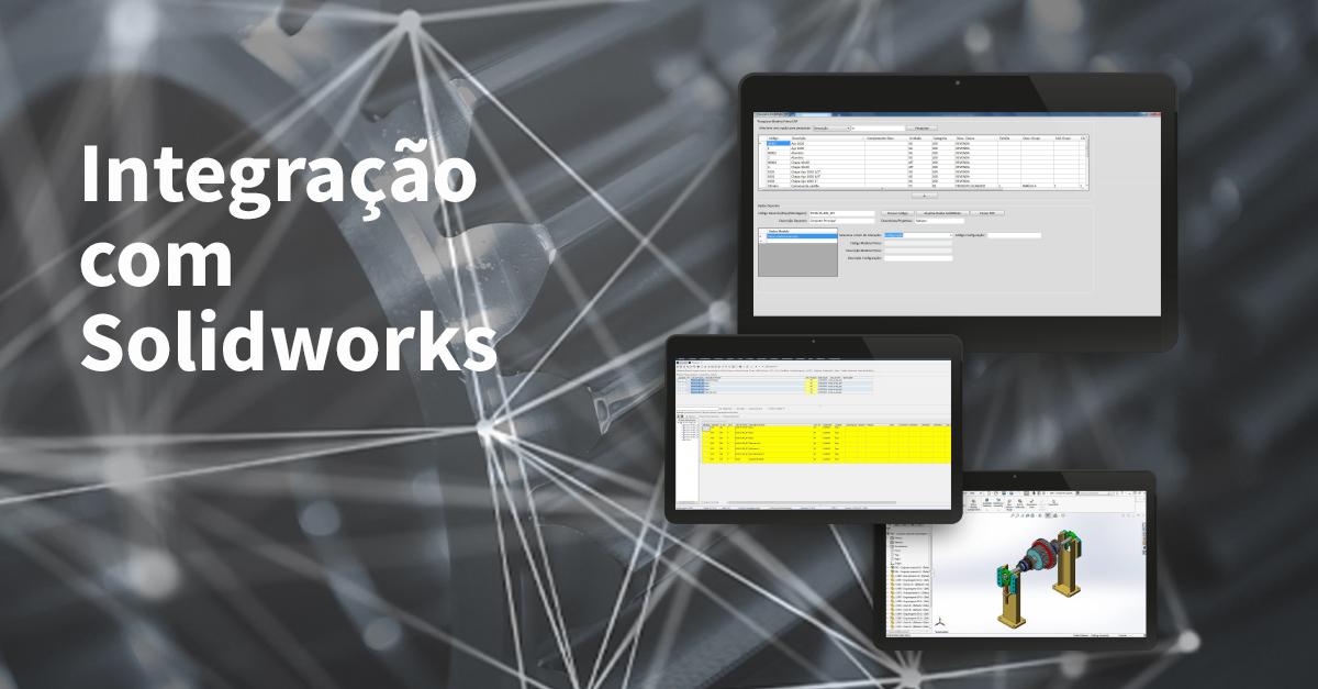 Nova Aplicação Viasoft Korp: Integração com Solidworks