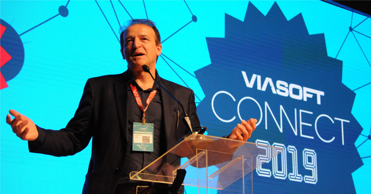 Itamir Viola: idealizador do maior evento de inovação aplicada aos negócios do Brasil, o Viasoft Connect.