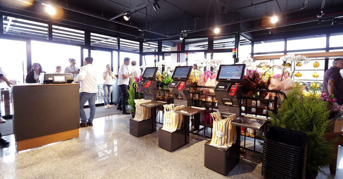 Parceria Viasoft Viasuper & Elgin presente em nova loja da Primato com terminal de self-checkout