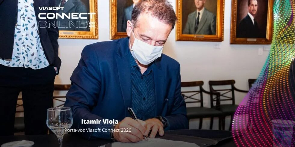 Viasoft Connect 2020 formaliza parceria com Governo do Estado