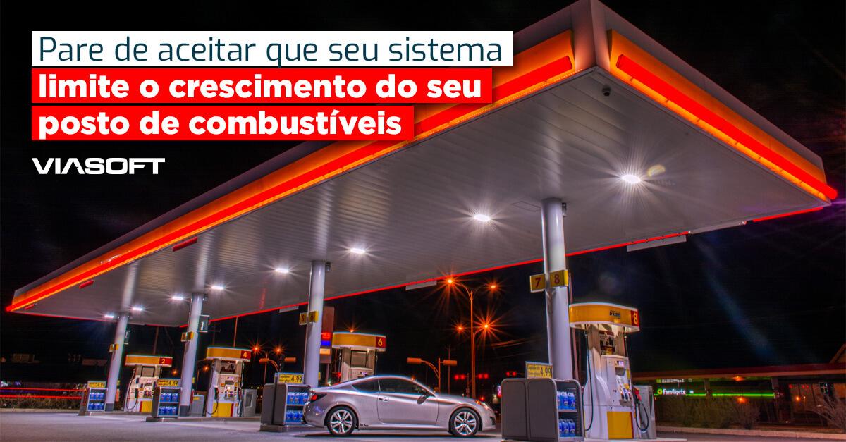 Pare de aceitar que seu sistema limite o crescimento do seu posto de combustíveis
